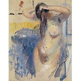 Oil Painting 'Rik Wouters - Nude Study, 20th Century' Printing On High Quality Polyster Canvas , 16x20 Inch / 41x52 Cm ,the Best Game Room Gallery Art And Home Gallery Art And Gifts Is This High Resolution Art Decorative Canvas Prints