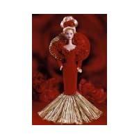50 aniversario dorado 1945-1995 Barbie de porcelana
