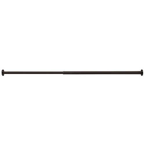 InterDesign Forma Adjustable Curtain Tension Rod - Windows, Closets and Blackout Blinds - 30
