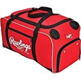 Rawlings Covert Player Duffle Bag, Scarlet by Rawlings