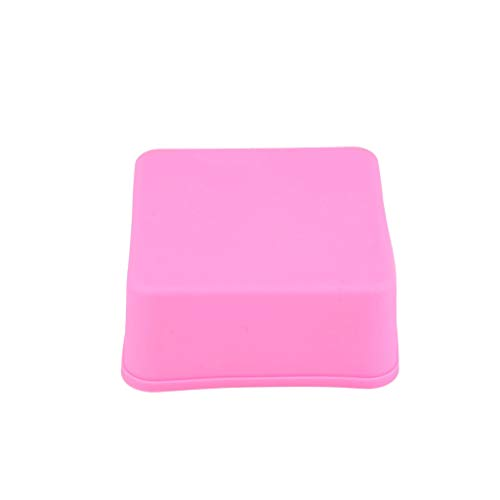 Giokfine 2019 Silicone Oven Handmade Soap Molds DIY Soap Mold (A)