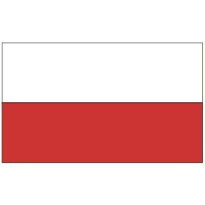 Poland flag 3 x 5ft polish current national 3x5 plain for Garden shed 3x5