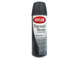 Krylon Natural Stone Aerosol Spray 12 Ounces (Faux Stone Paint)