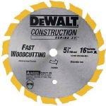 Dewalt DW9055 5-3/8 inch Cordless Circular Saw Steel Blade