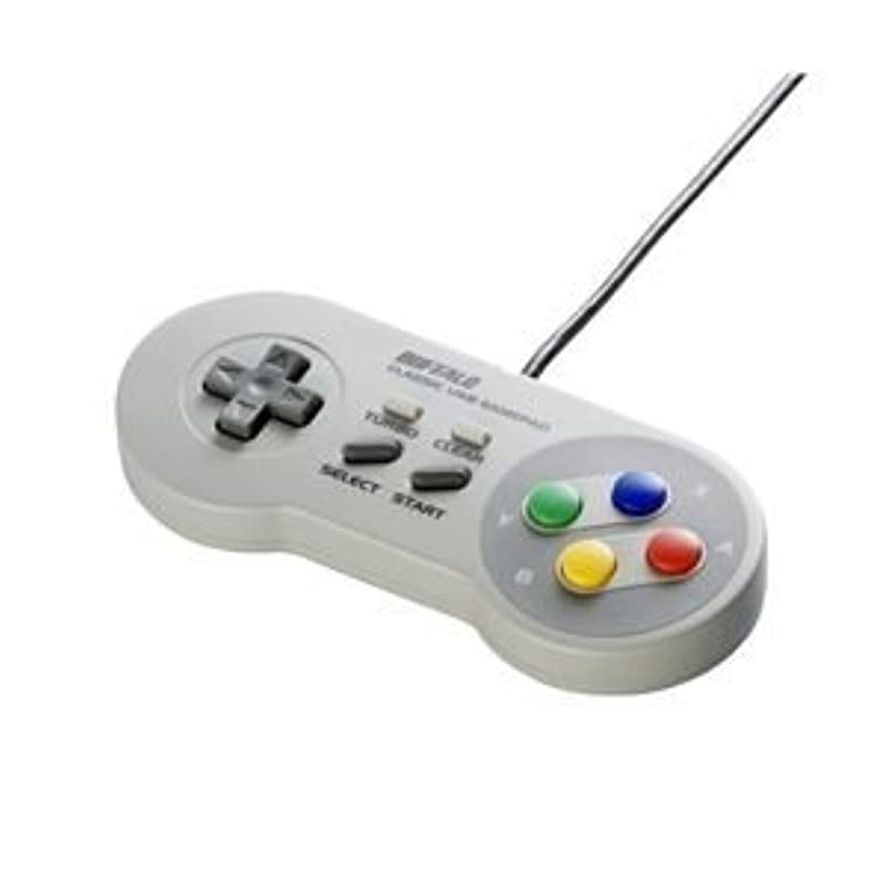 BUFFALO USB 게임 패드 슈퍼 패미콤