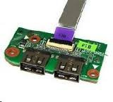 Toshiba Satellite L655D Laptop USB Port Board & Cable- 38BL6UB0000