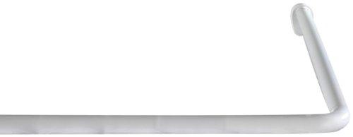 wenko 19218100 winkelstange universal extra stark chrom variabel 25 mm aluminium chrom amazonde kche haushalt - Ikea Stange Dusche