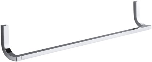 Kohler K-11581-CP Loure 24'' Towel Bar, Polished Chrome by Kohler