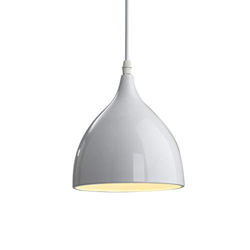 blanc MWPO Lustres de Restaurant Modernes et minimalistes, Lampes de Chambre Individuelles, éclairage de Bar à thé au café allée de la Mode Sauvage (Couleur  Blanc)