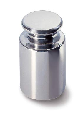 F1Class individuels Forme cylindrique en acier inoxydable poli Test Poids Oiml Standard, 327-01 - 1g, 1 Kern