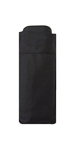 SMATI Mini Taschenschirm - Stabil - kompakte - windproof Schwarz