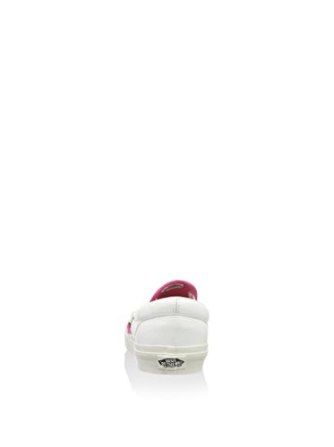 Vans Slip-On U Classic Ca Fucsia / Blanco EU 38.5 (US 6.5)