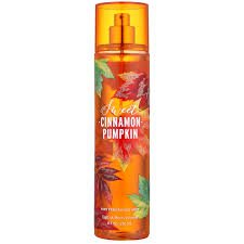 Bath Body Works Fine Fragrance Mist, Sweet Cinnamon Pumpkin