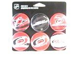 Hurricanes Logo Pin - Wincraft NHL Fun Pack Carolina Hurricanes Round Button Pins