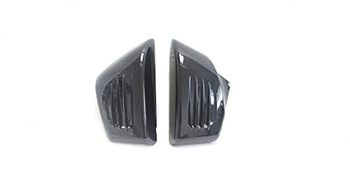 BLACK SIDE COVERS FOR HONDA ACE TOURER SABRE 1100 VT1100 VT1100C2