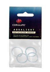Coralife Aqualight Retaining Bands, 4-Pack