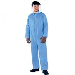 KleenGuard® A65 Flame Resistant Coveralls - large prevail flame resistant coverall bl