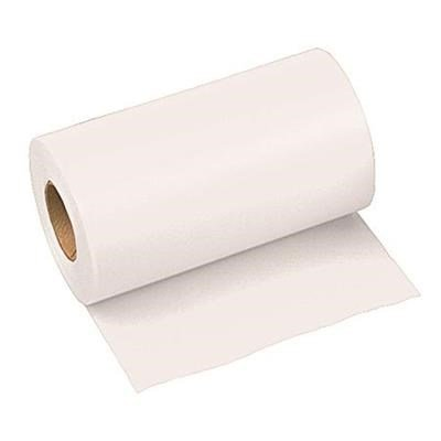 Wide Width PVC Vinyl Taffeta Flagging Tape, White, 6