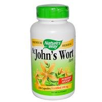 Wort herbes, 350mg 180 Capsules de Natures Way Saint John