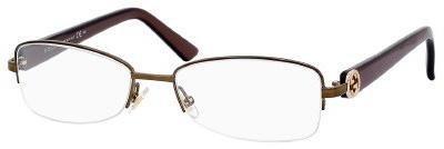 Gucci 2906 Eyeglasses (02V0) Brown, 51 mm