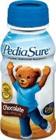 PediaSure® Ready-to-Drink Chocolate 8 oz Bottle, Gluten-Free, Milk-Based - 24 ct.