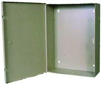 Enclosure 11 inchW X 15 inchH X 4 inchD Metal Beige-2pack