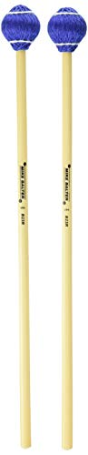 (Mike Balter 23R Pro Vibe Series Medium Vibraphone Mallets with Rattan Handles,)