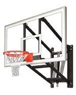 最初チームwallmonster Arena steel-glass調整可能壁マウントバスケットボールsystem44、ロイヤルブルー B01HC0CIW8