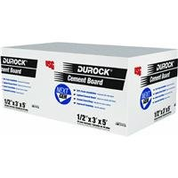 1/2x3x5 Cement Board (Durock Cement Board)