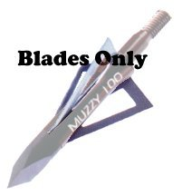 Muzzy Bowhunting 3-Blade Replacement Blades for 220 and 225-R Broadheads, 100 Grain, 6 - Grain 220 Diameter