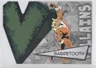 Sabretooth (Trading Card) 2012 Upper Deck Marvel Beginnings Series 3 - Villains Die-Cuts #V-35