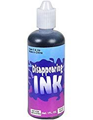Unit Ink (Rhode Island Novelty Disappearing Ink in Squeezable Tube, 1 fl oz (1-Unit)     )
