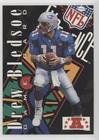 Experience Nfl Super Bowl (Drew Bledsoe (Football Card) 1995 Classic NFL Experience - Super Bowl Game #AFC6)