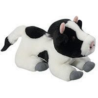 Multipet Look Who's Talking Cow Dog Toy, My Pet Supplies