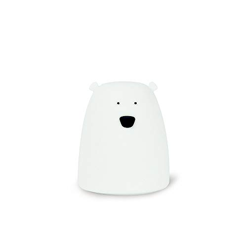 Big White Bear Design Colorful Night Light Touch Sensor Dimmable LED...