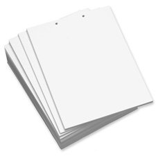 - DMR851251 - DOMTAR PAPER Domtar Punched Top Custom Cut Sheet