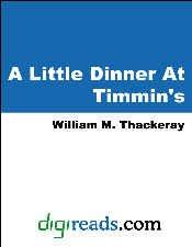 A Little Dinner At Timmins