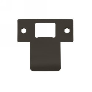 Deltana TSPE250 2-3/4 x 2-5/8 Extended Lip T-Strike Plate, Oil Rubbed Bronze by Deltana by Deltana