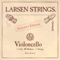 Larsen Soloist 4/4 Cello D String Medium Alloy-Steel