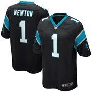 - Cam Newton Carolina Panthers Nike Team Color Game Jersey - Black