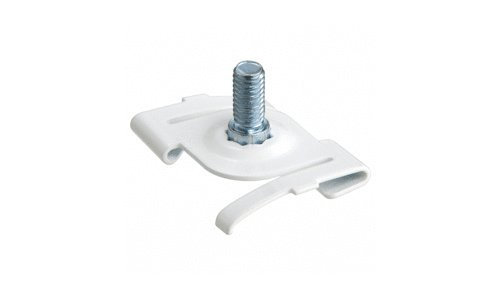 CRL Satin Anodized Ceiling Twist Clip Pack of 4 by CR Laurence