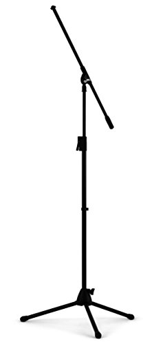 Nomad NMS-6618 Quick-Release Tri-Base Microphone Stand with Boom