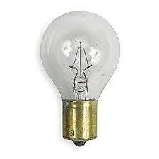 310 Incandescent Bulbs S11, 28 Volt .9 Amps, Double Contact Bayonet Base (1 -