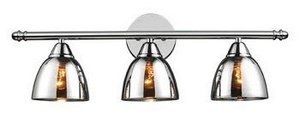 Elk 10072/3 Reflections 3-Light Vanity in Polished Chrome ()