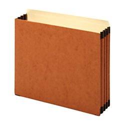 [Office Depot(R) Brand File Cabinet Pockets, 3 1/2in. Expansion, Letter Size, Brown, Pack Of 5] (Expansion File Cabinet Pocket)