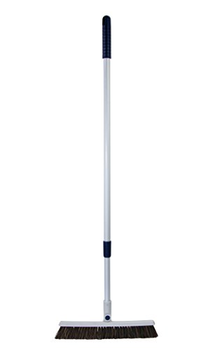 Feather Sweep Fast 'N Easy Incredibly Flexible Push Broom with Telescoping Handle