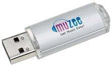 MUZEE Worldwide USB Internet Radio - 13,000 Stations