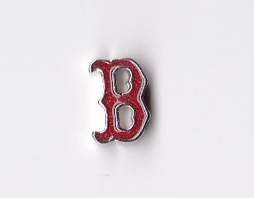 Sox Art Glass (Redsox Cutout Floating Charm)
