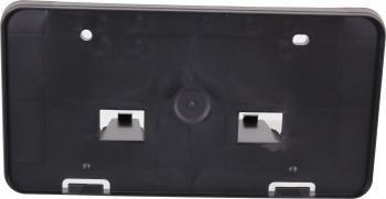 TOYOTA COROLLA 09-13 FRONT LICENSE PLATE BRACKET, Textured (Black), ( 09-10)