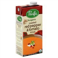 Pacific Organic Soup, Roasted Red Pepper & Tomato, 32 Oz. (Pack of 2) by Pacific Natural Foods